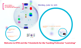 OTES & 7 Standards for Teachers