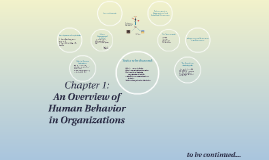 Copy of An Overview of Human Behavior in Organization