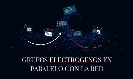 GRUPOS ELECTROGENOS EN PARALELO CON LA RED