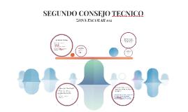 SEGUNDO CONSEJO TECNICO