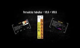 Periodická tabulka - VII.A + VIII.A