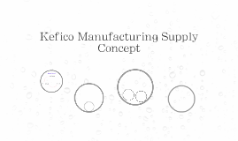 Kefico Manufacturing Supply Concept