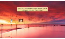 Gott und Transzendenz in den Weltreligionen-