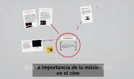 La importancia de la música en el cine