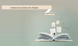 Fenòmens de contacte entre llengües
