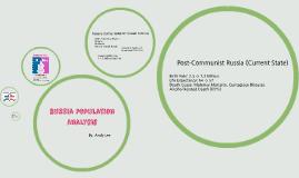 Russia Population Analysis