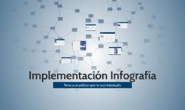 Implementación Infografía