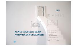 TDA - Alpha Concessionaria VW