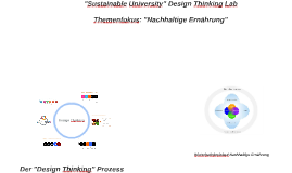 Sustainable University Design Thinking Lab