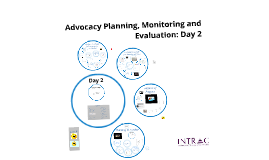 Advocacy Planning Monitoring and Evaluation OT Day 2