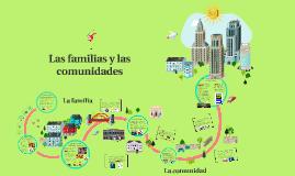 Las familias y las comunidades