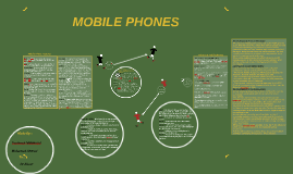 Here's the big parts of the mobile cell phone and their func