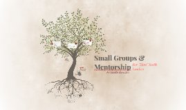 Small Groups & Mentorship