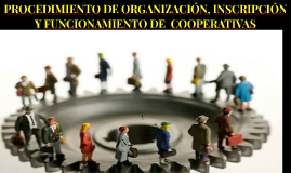 PROCEDIMIENTO DE ORGANIZACIÓN, INSCRIPCIÓN Y FUNCIONAMIENTO