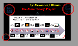 The Atom Theory: Project