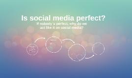 """""""Perfect"""" social media"""