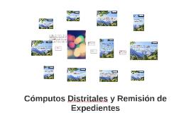 Copy of Cómputos Distritales y Remisión de Expedientes
