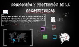 PROMOCIÓN Y PROTECCIÓN DE LA COMPETTIVIDAD
