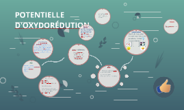 POTENTIELLE D'OXYDORÉDUTION