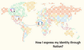How I express my identity through Nation?