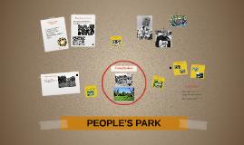 People's park Berkeley