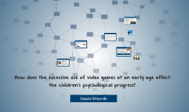 Social Impact of Computers on Children's Psychological Progr