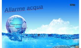 Allarme acqua