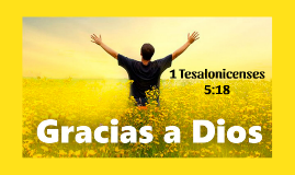 1 Tesalonicenses 5:18