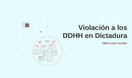 Violación a los DDHH en Dictadura
