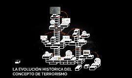 LA EVOLUCIÓN HISTÓRICA DEL CONCEPTO DE TERRORISMO
