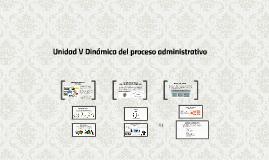 Dinámica del proceso administrativo