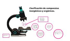 Copy of Clasificacion de compuestos organico e inorganicos