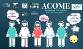 ¿Qué es ACOME?