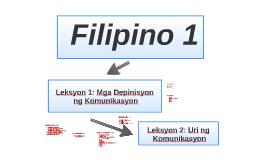 Filipino 1