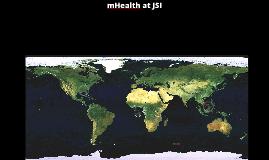 mHealth at JSI