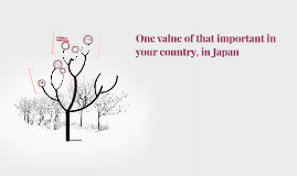 One value of that important in your country, in Japan