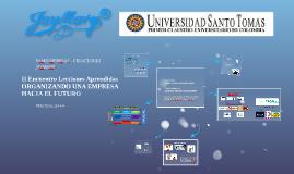 Copy of I Encuentro Lecciones Aprendidas