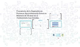 Depresion en Personas Aparentemente Sanas en Mayores de 18 a