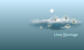 Lime Shortage