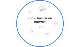 como buscar en internet