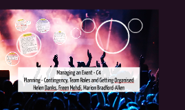 U4 Managing an Event Week 9