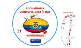 Aprendizajes culturales para la paz