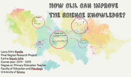HOW CLIL CAN IMPROVE THE SCIENCE KNOWLEDGE?