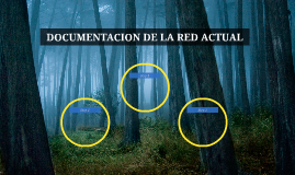DOCUMENTACION DE LA RED ACTUAL