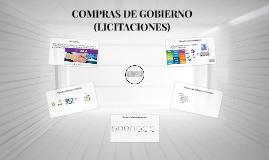 COMPRAS DE GOBIERNO (LICITACIONES)