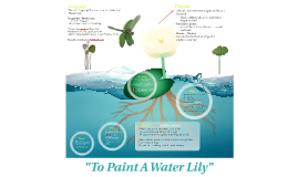 """To Paint A Water Lily"""