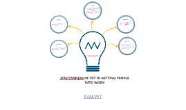 EFFECTIVENESS OF VET IN GETTING PEOPLE INTO WORK