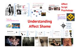 Understanding Shame (in schools)