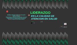Copy of LIDERAZGO Y SEGURIDAD DEL PACIENTE