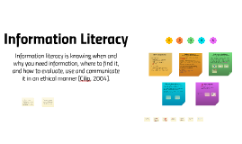 Copy of Junior College Information Literacy